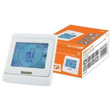 Термостат для теплых полов электронный сенсорный ТТПЭ-2 16А 250В, TDM